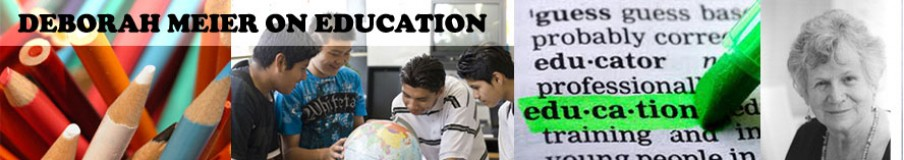 deborah meier education