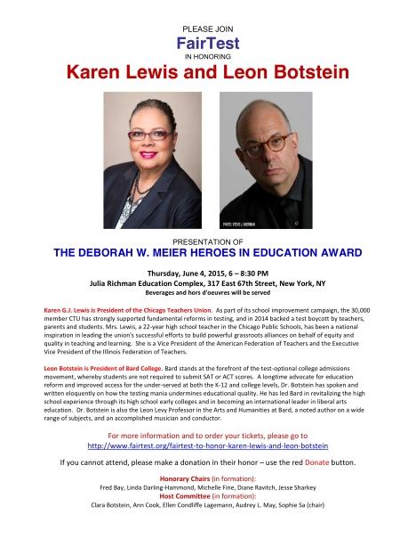 Lewis-Botstein invite